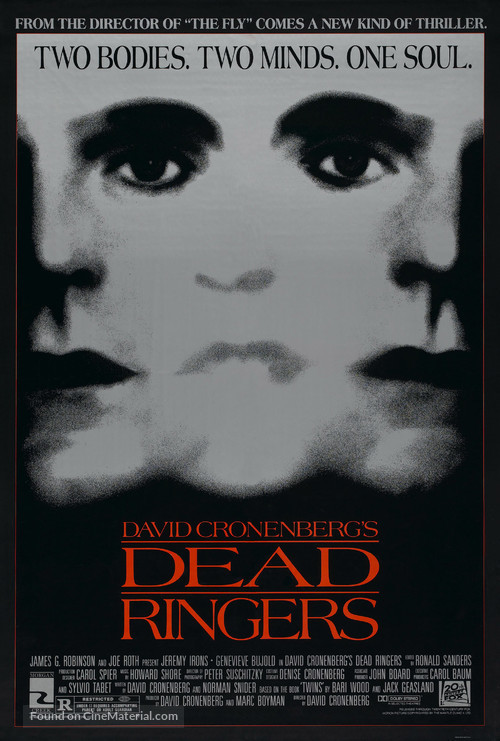 Dead Ringers - Movie Poster