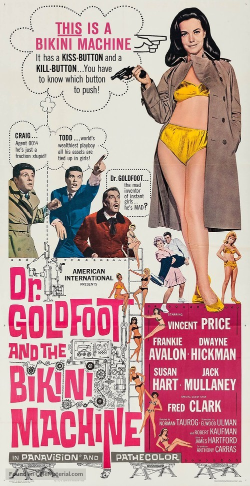 Dr. Goldfoot and the Bikini Machine - Movie Poster