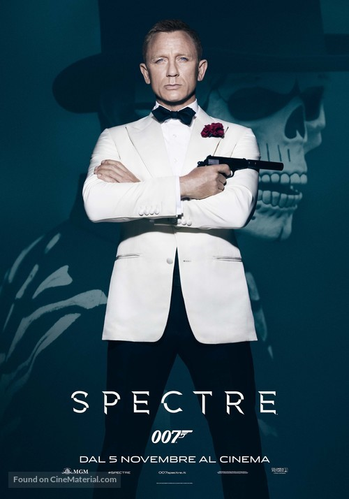 Spectre - Italian Movie Poster