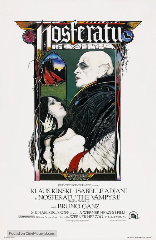 Nosferatu: Phantom der Nacht - Movie Poster
