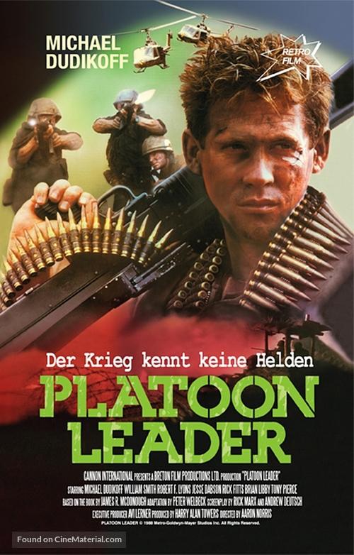 Platoon Leader - German DVD movie cover