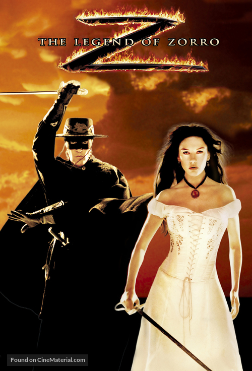 the legend of zorro movie poster