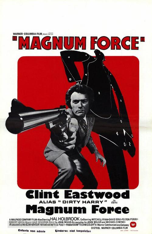Magnum Force - Danish Movie Poster