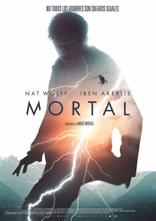 Mortal - Spanish Movie Poster