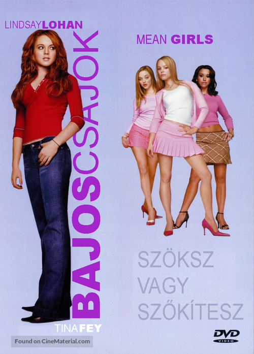 Mean Girls - Hungarian Movie Cover