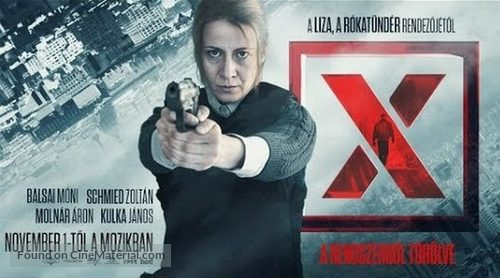 X. - Hungarian Movie Cover