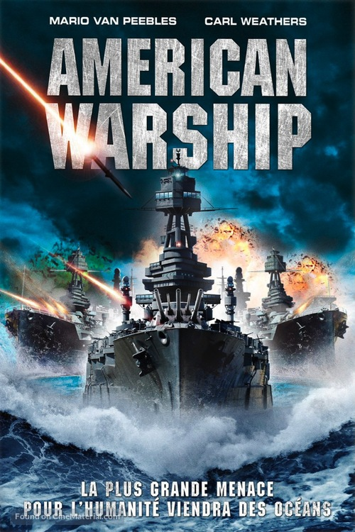 American Warships - French DVD movie cover