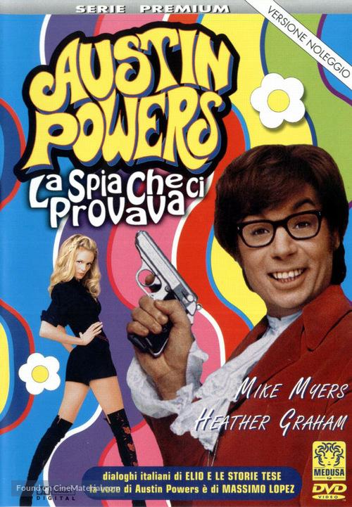 Austin Powers The Spy Who Shagged Me 1999 Italian Dvd Movie Cover