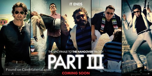 The Hangover Part III - British Movie Poster