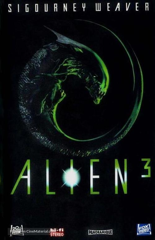 Alien 3 - French VHS movie cover