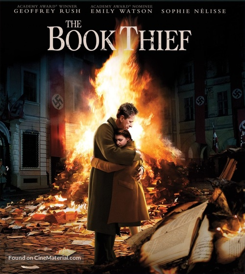 The Book Thief - Blu-Ray movie cover