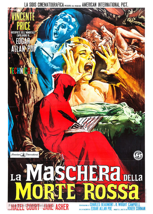 The Masque of the Red Death - Italian Movie Poster