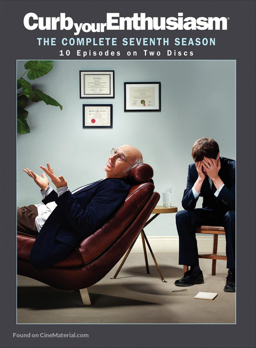 """Curb Your Enthusiasm"" - DVD movie cover"