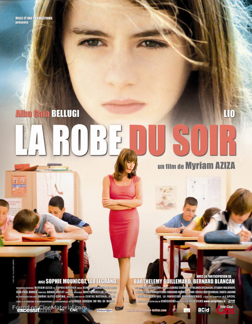 La robe du soir - French Movie Poster