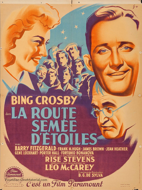 Going My Way - French Movie Poster