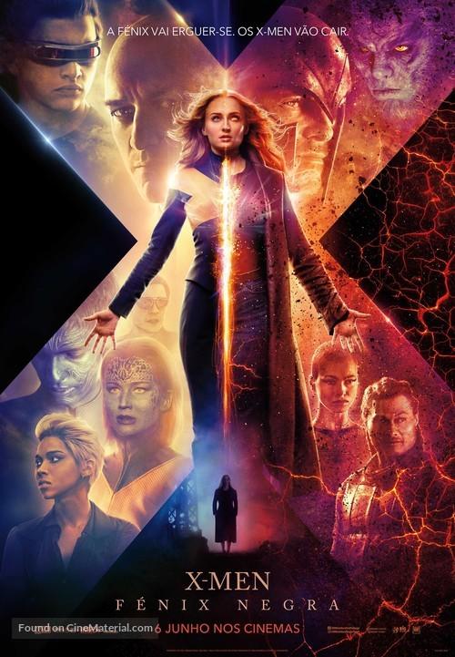 Dark Phoenix - Portuguese Movie Poster