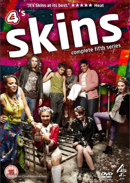 """Skins"" - British DVD movie cover"