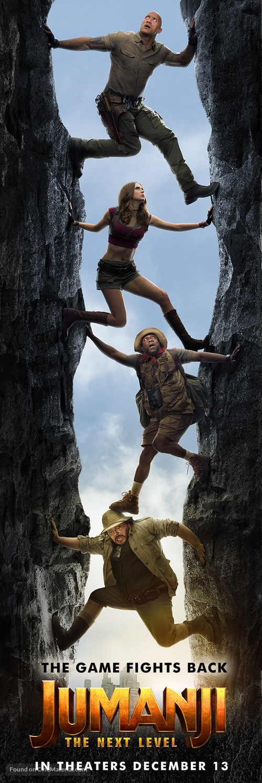 Jumanji: The Next Level - Movie Poster