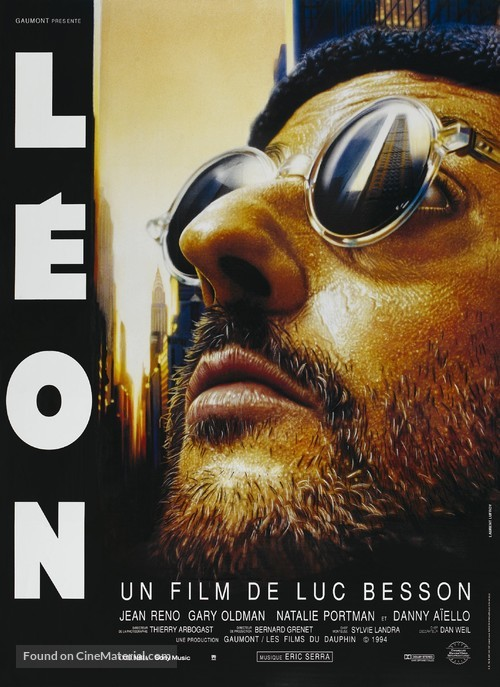 Léon - French Movie Poster