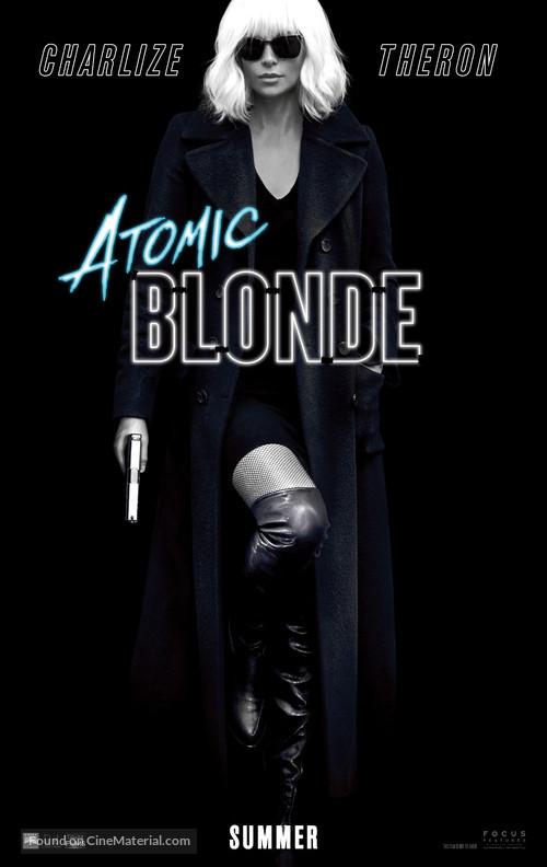 Atomic Blonde - Teaser movie poster