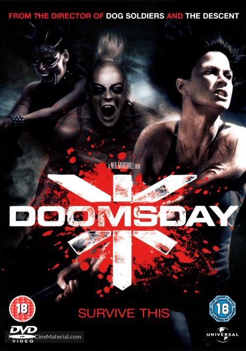 Doomsday 2008 British Dvd Movie Cover