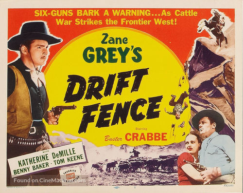 Drift Fence - Movie Poster