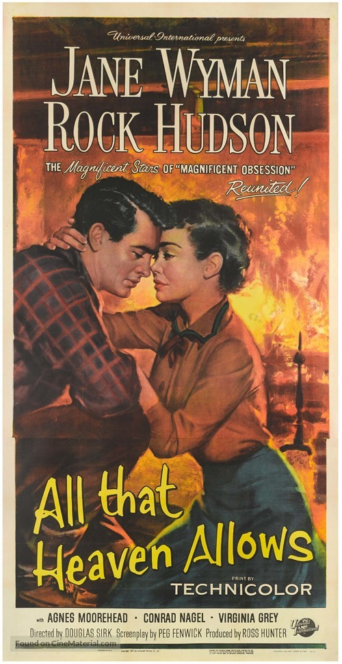 All That Heaven Allows - Movie Poster