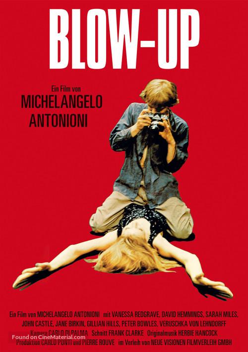 Blowup - German Movie Poster