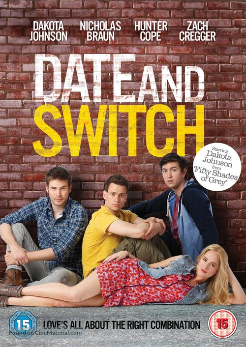 Date and Switch - British DVD movie cover