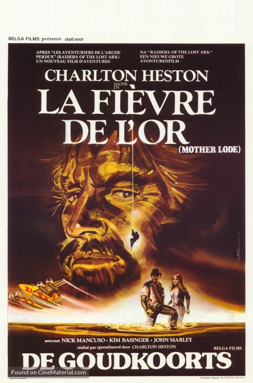 Mother Lode - Belgian Movie Poster
