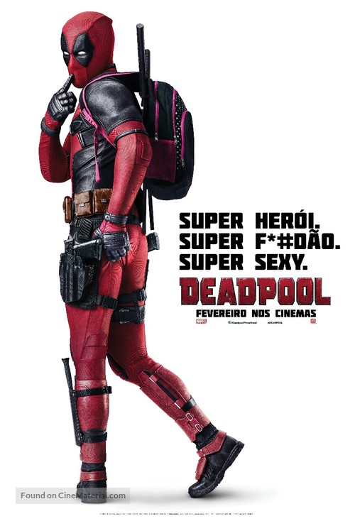 Deadpool - Brazilian Movie Poster