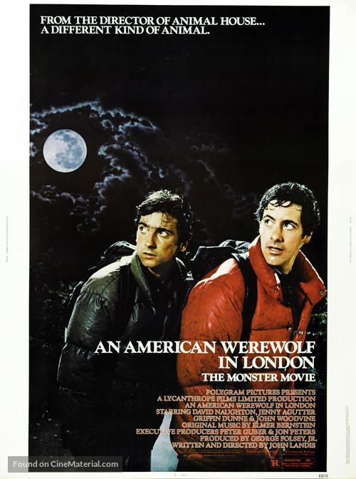 An American Werewolf in London - Movie Poster