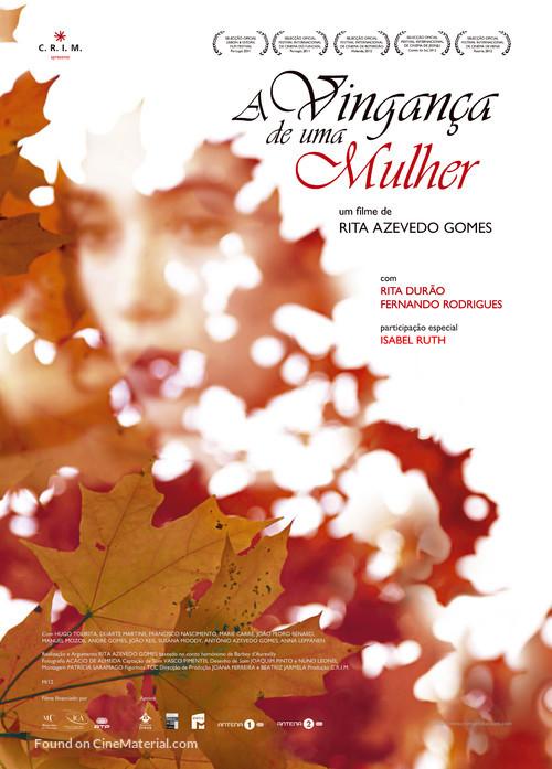 A Vingança de Uma Mulher - Portuguese Movie Poster