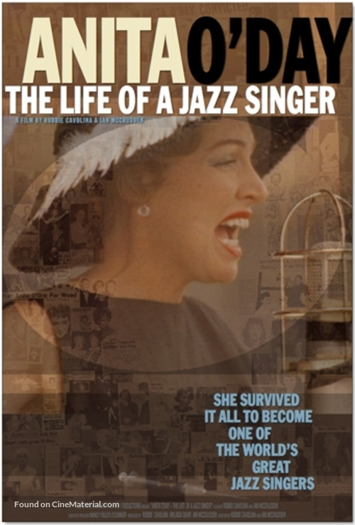Anita O'Day: The Life of a Jazz Singer - Movie Poster