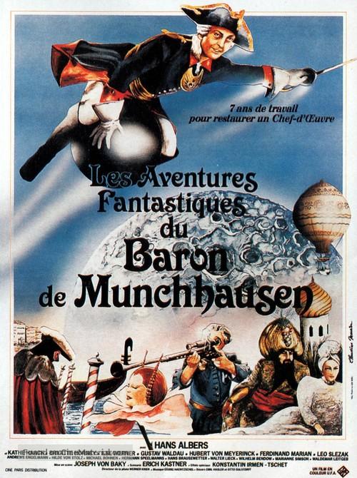 Münchhausen - French Movie Poster