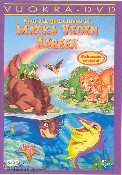 The Land Before Time 9 - Finnish DVD cover