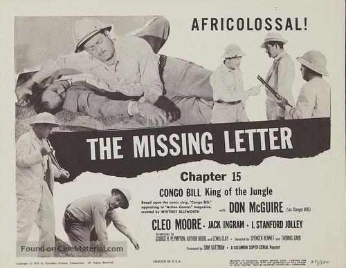 Congo Bill - Movie Poster