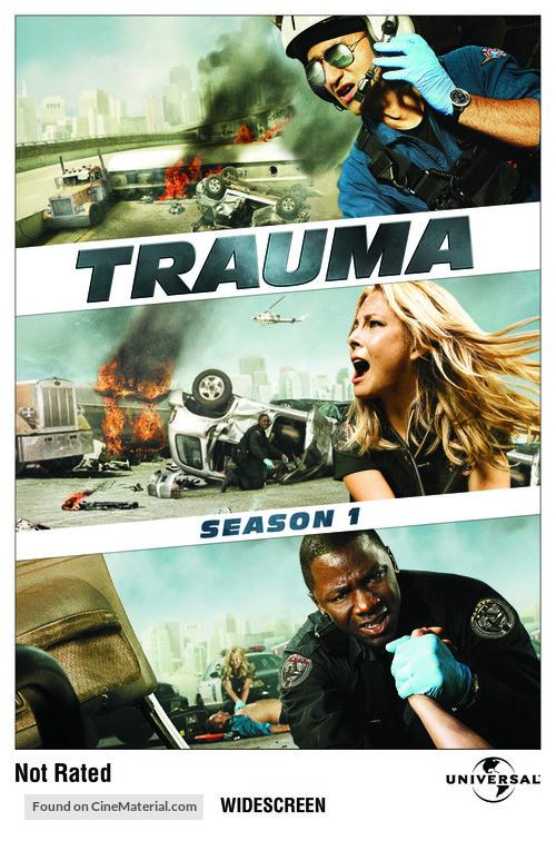 """Trauma"" - DVD movie cover"