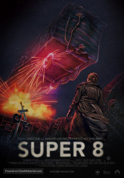 Super 8 - Movie Poster