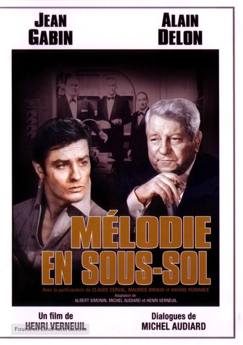 Mélodie en sous-sol - French Movie Cover