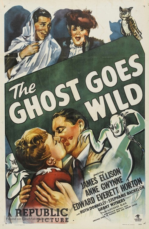The Ghost Goes Wild - Movie Poster