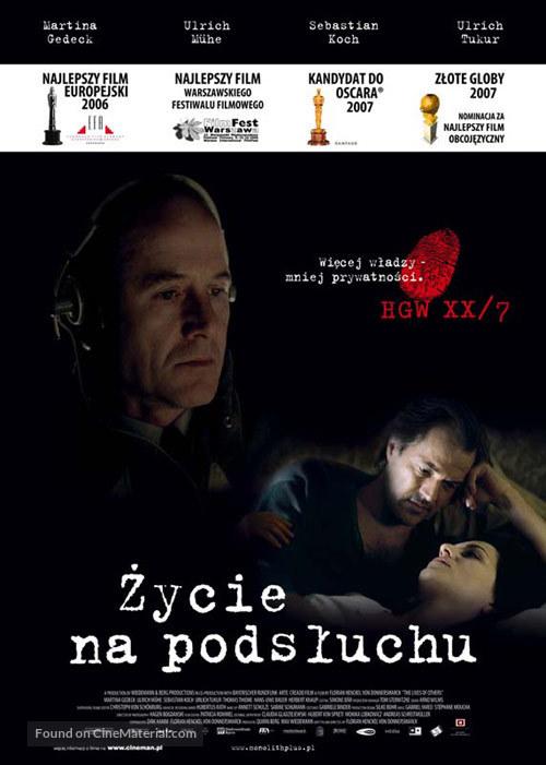 Das Leben der Anderen - Polish Movie Poster