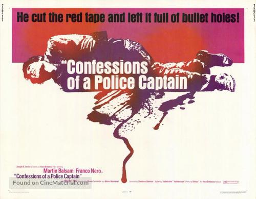 Confessione di un commissario di polizia al procuratore della repubblica - Movie Poster