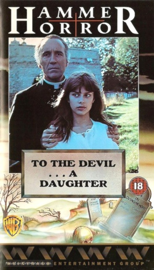 To the Devil a Daughter - British VHS cover