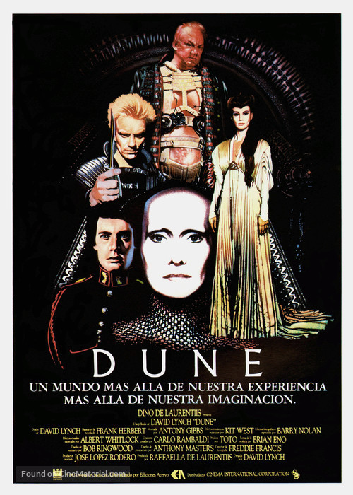 Dune - Spanish Movie Poster