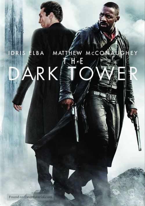 The Dark Tower - DVD movie cover