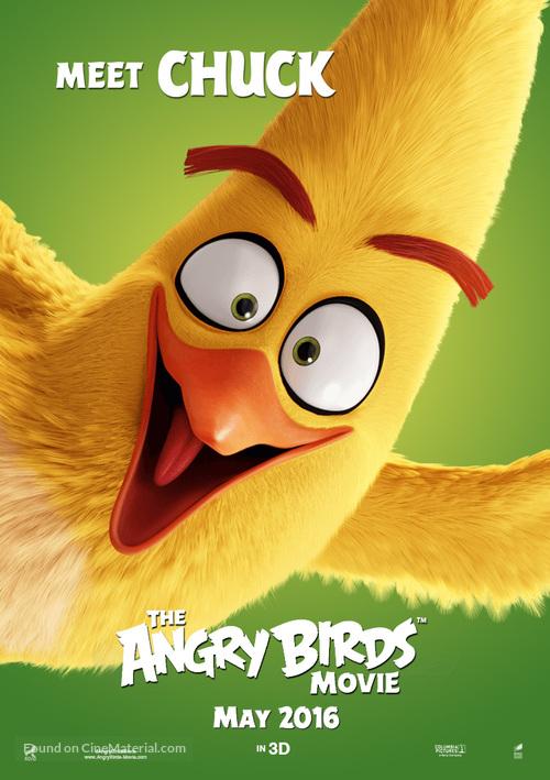 The Angry Birds Movie - Movie Poster