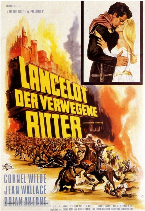 Lancelot and Guinevere - German Movie Poster