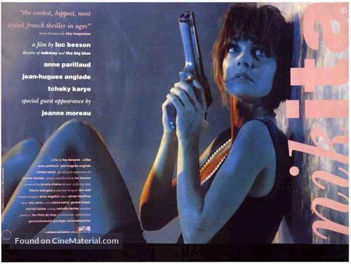 Nikita - British Movie Poster