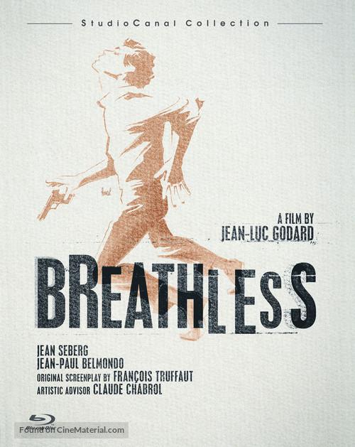À bout de souffle - Blu-Ray movie cover
